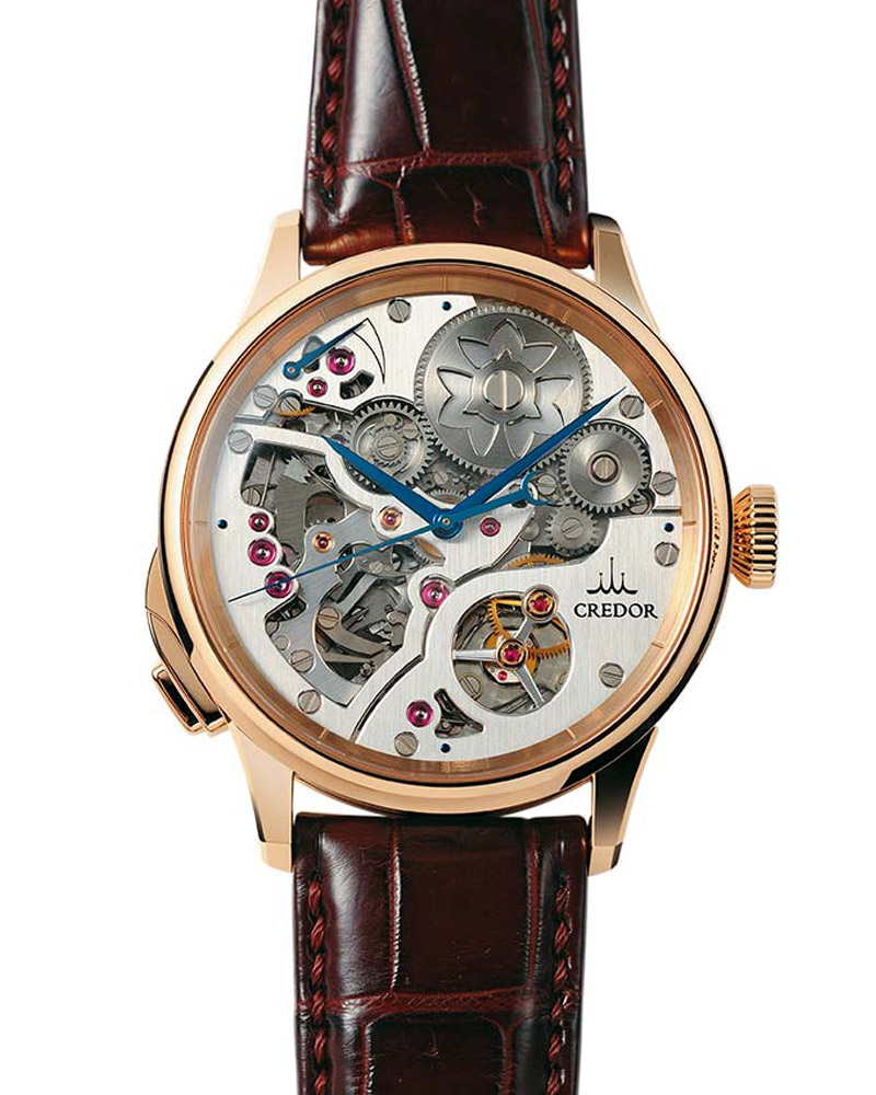 Spring Drive Minute Repeater