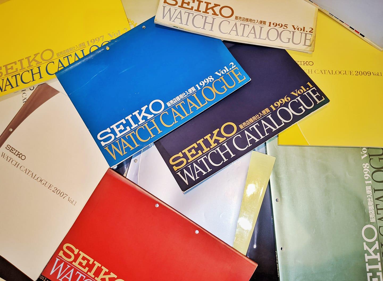Seiko Catalogs